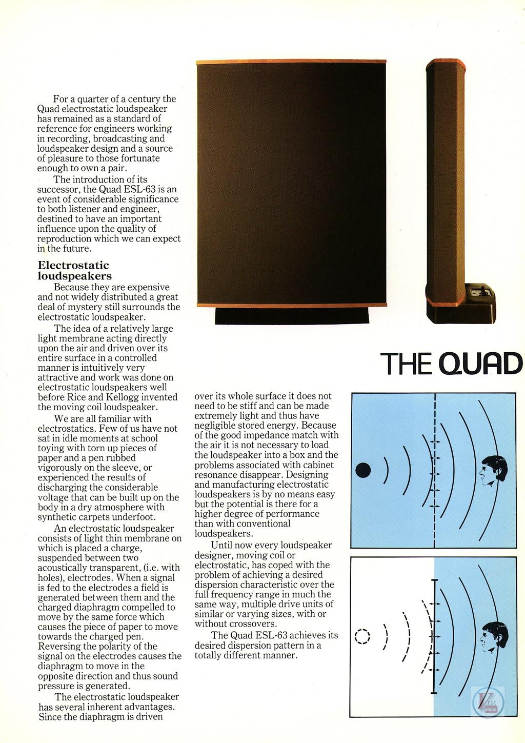 Quad Speakers 87