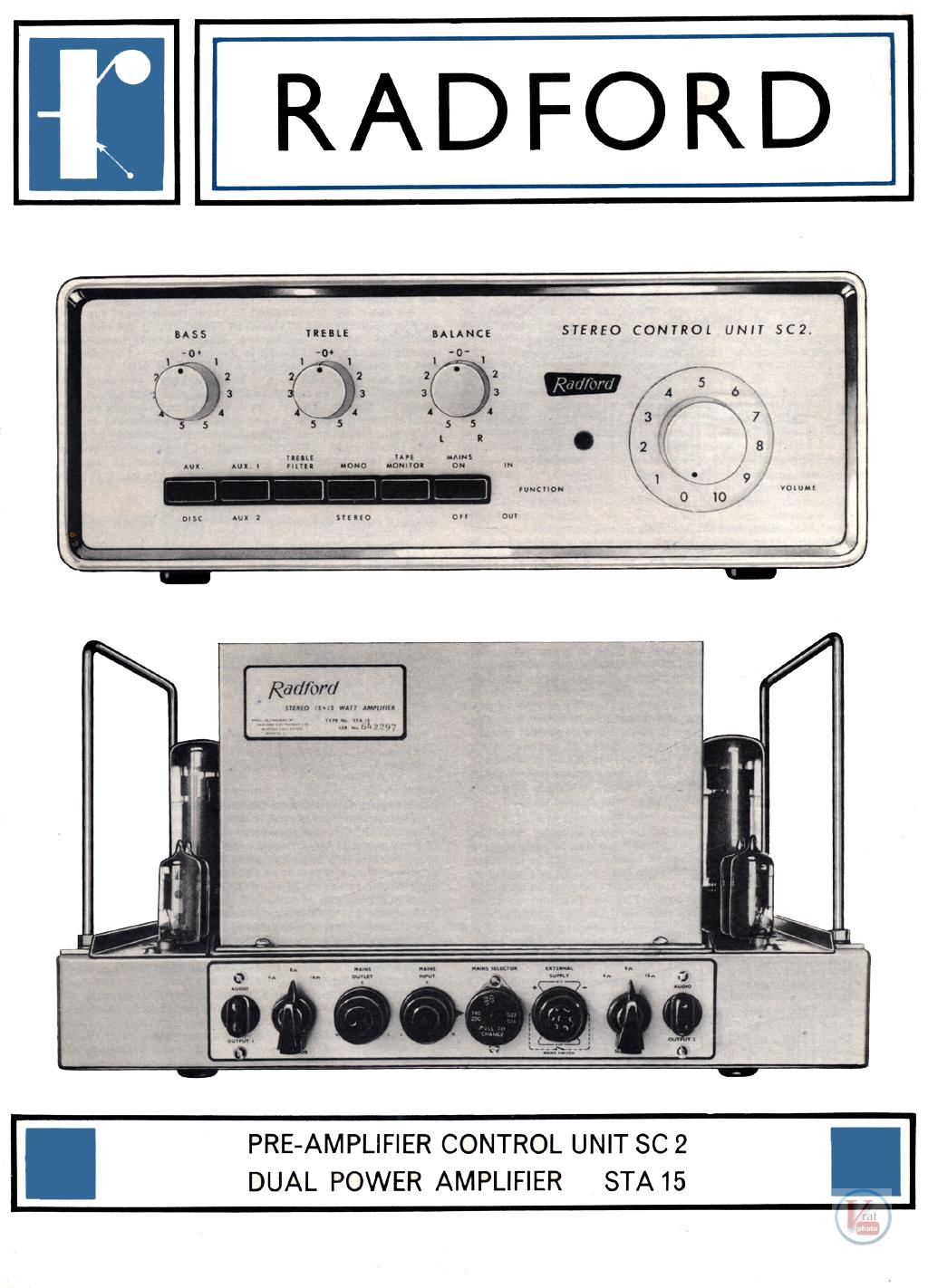 Radford Amplifiers 13