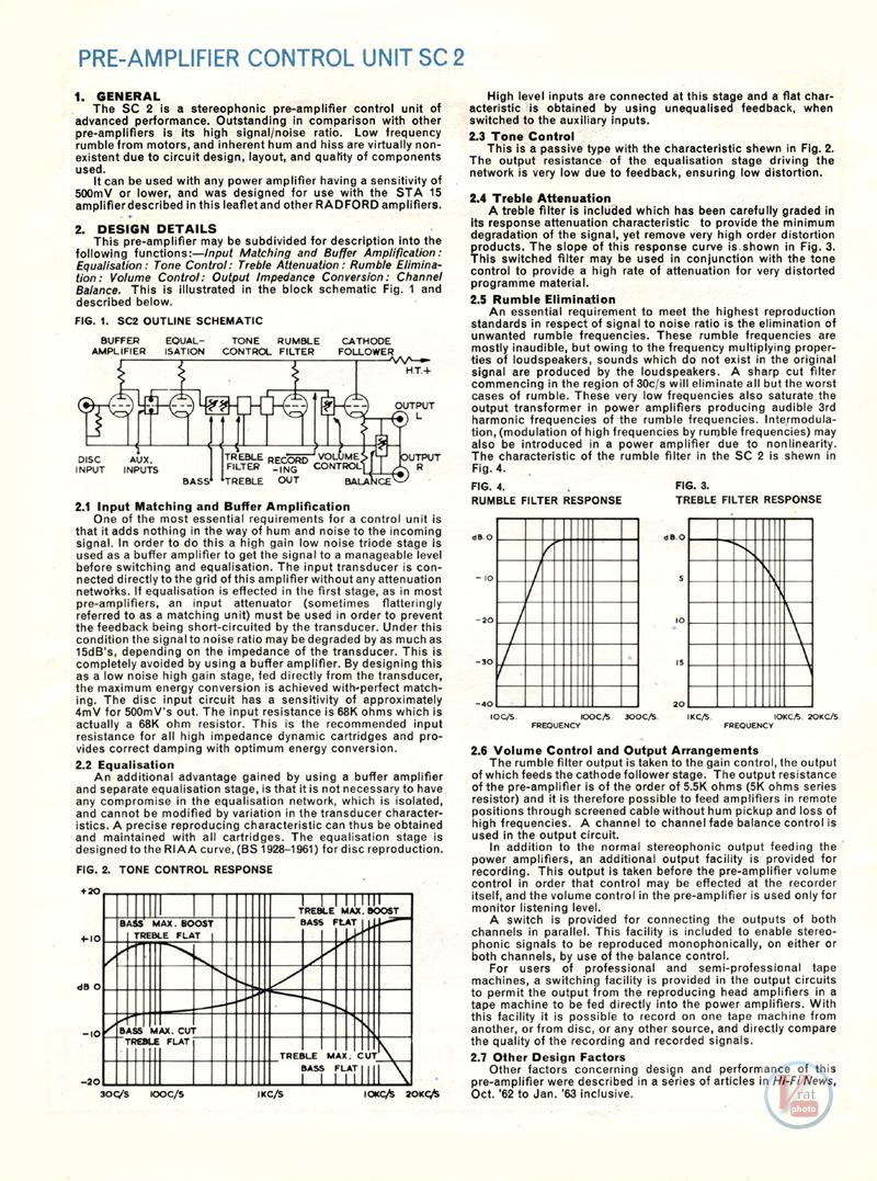 Radford Amplifiers 14