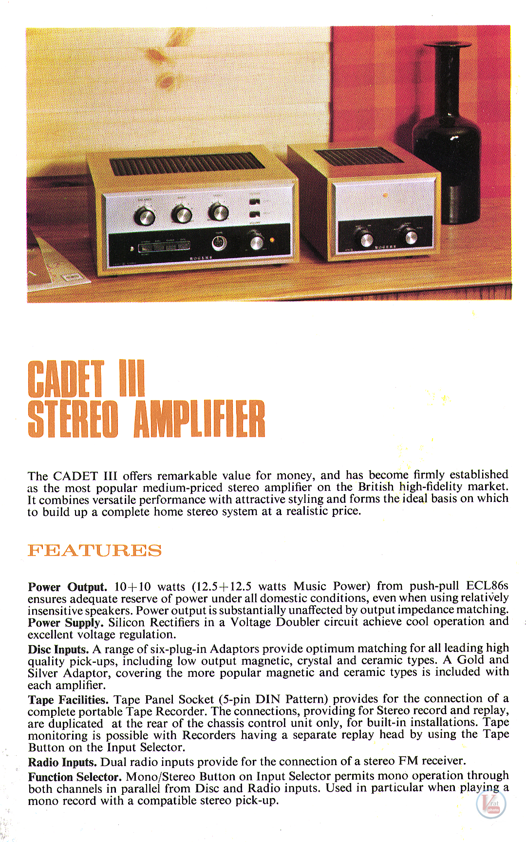 Rogers Amplifier 12