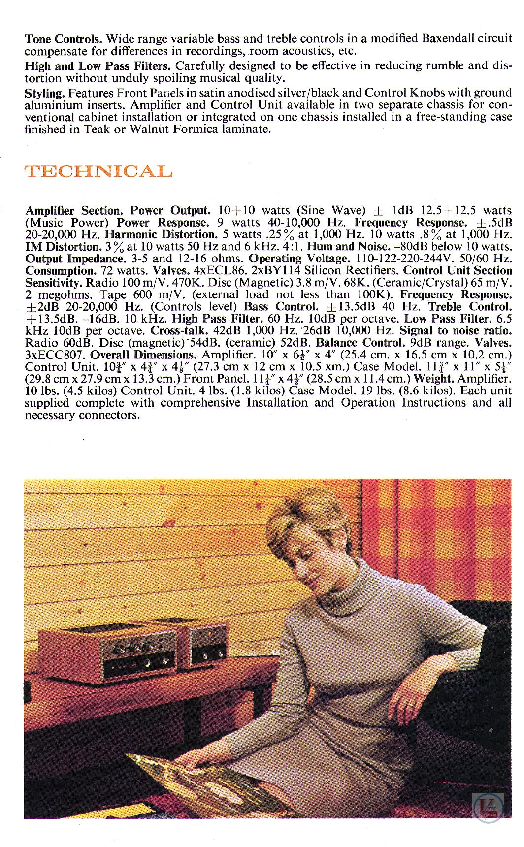Rogers Amplifier 18