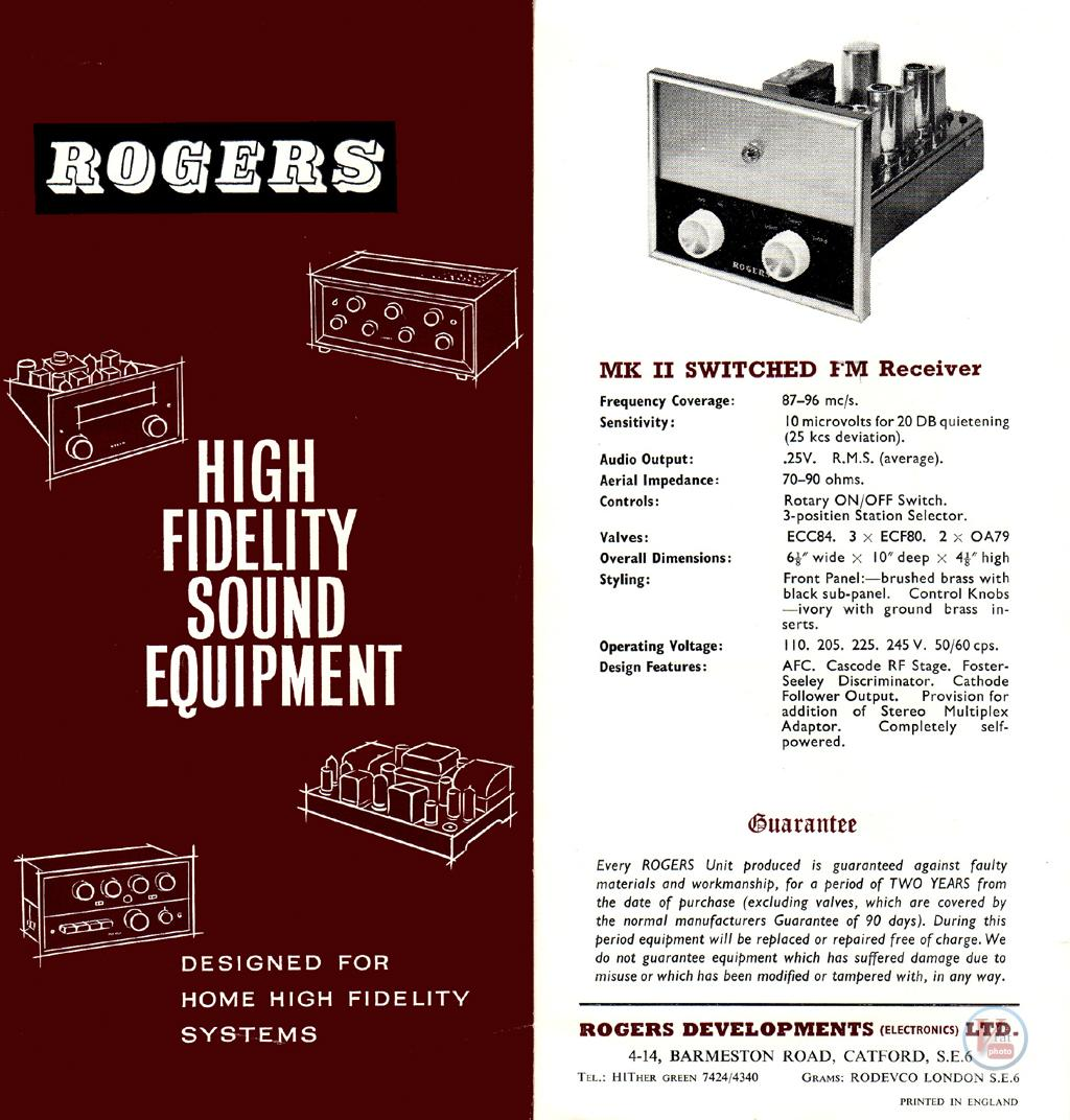 Rogers 1963 Catalogue 1
