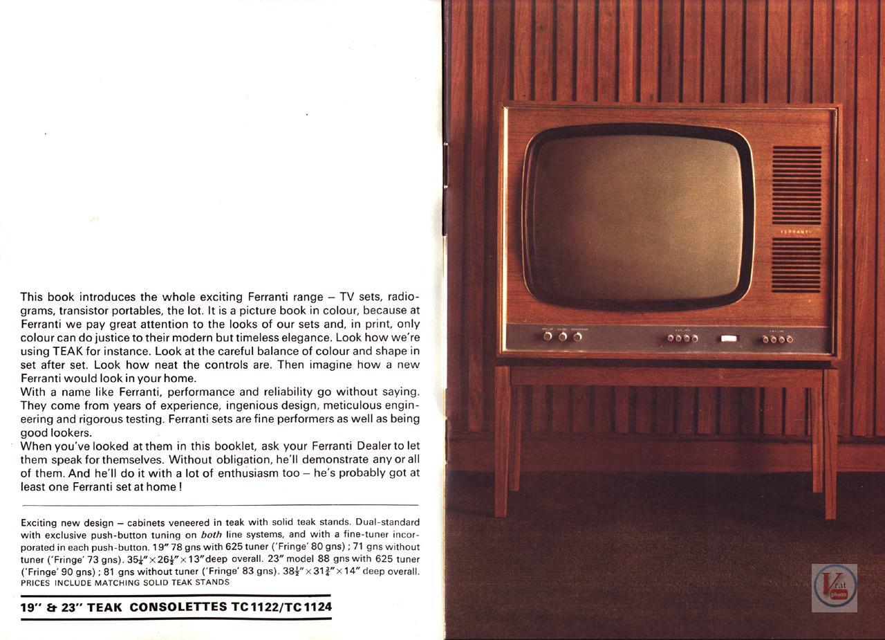 Ferranti B&W TV's 24