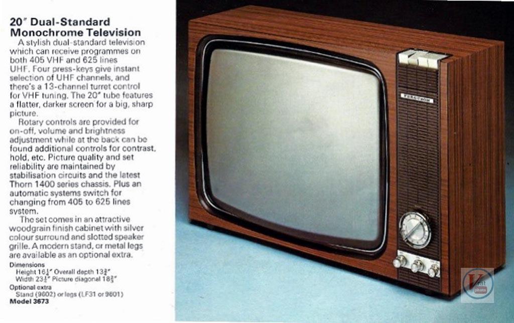 Ferguson B&W TV's 70