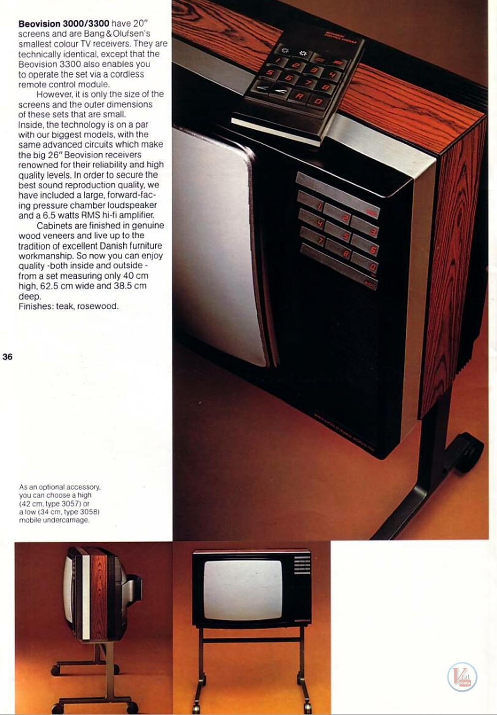 """1978 20"""" Beovison 3300 2"""