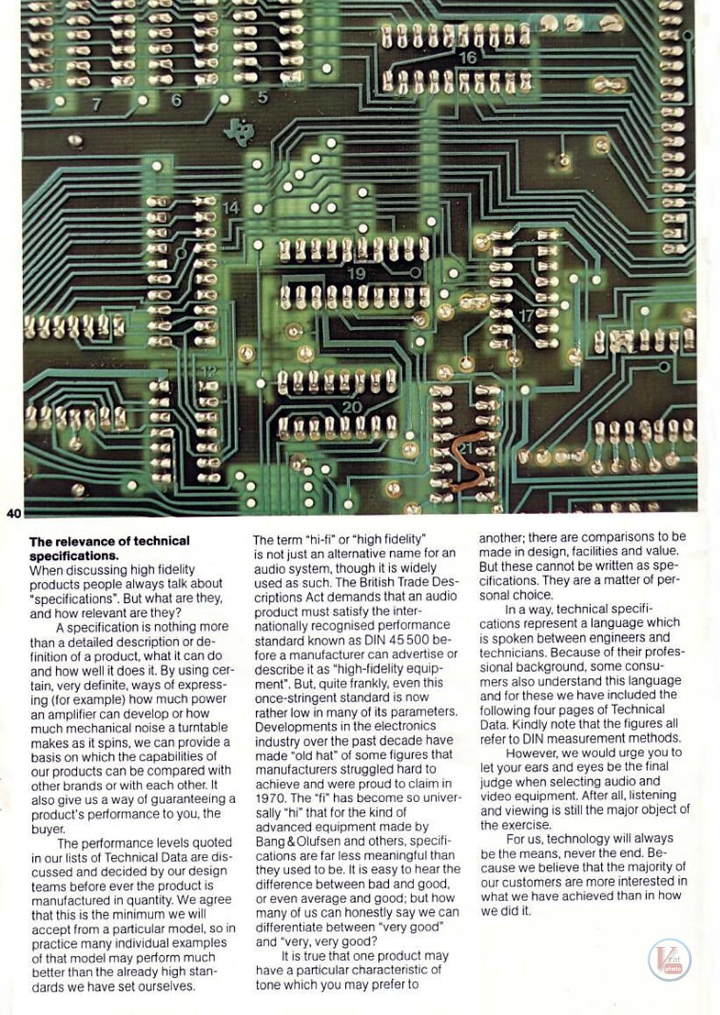 """1978 20"""" Beovison 3300 3"""