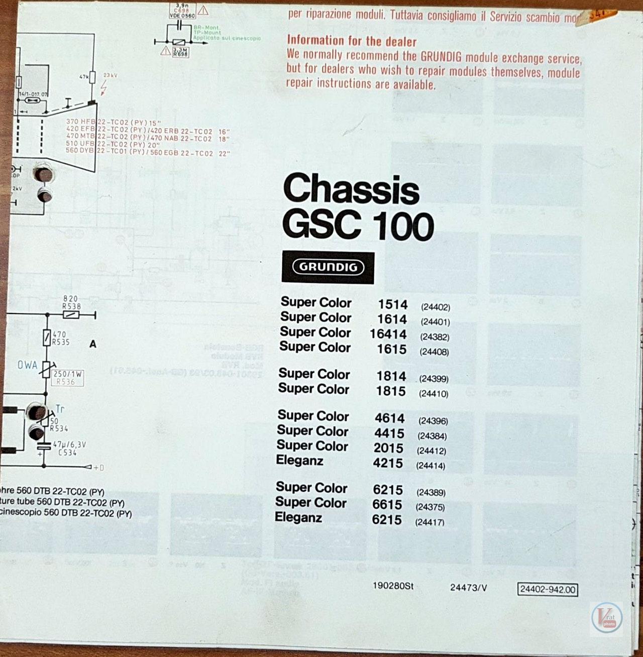 1978 Grundig 4415 GB 11