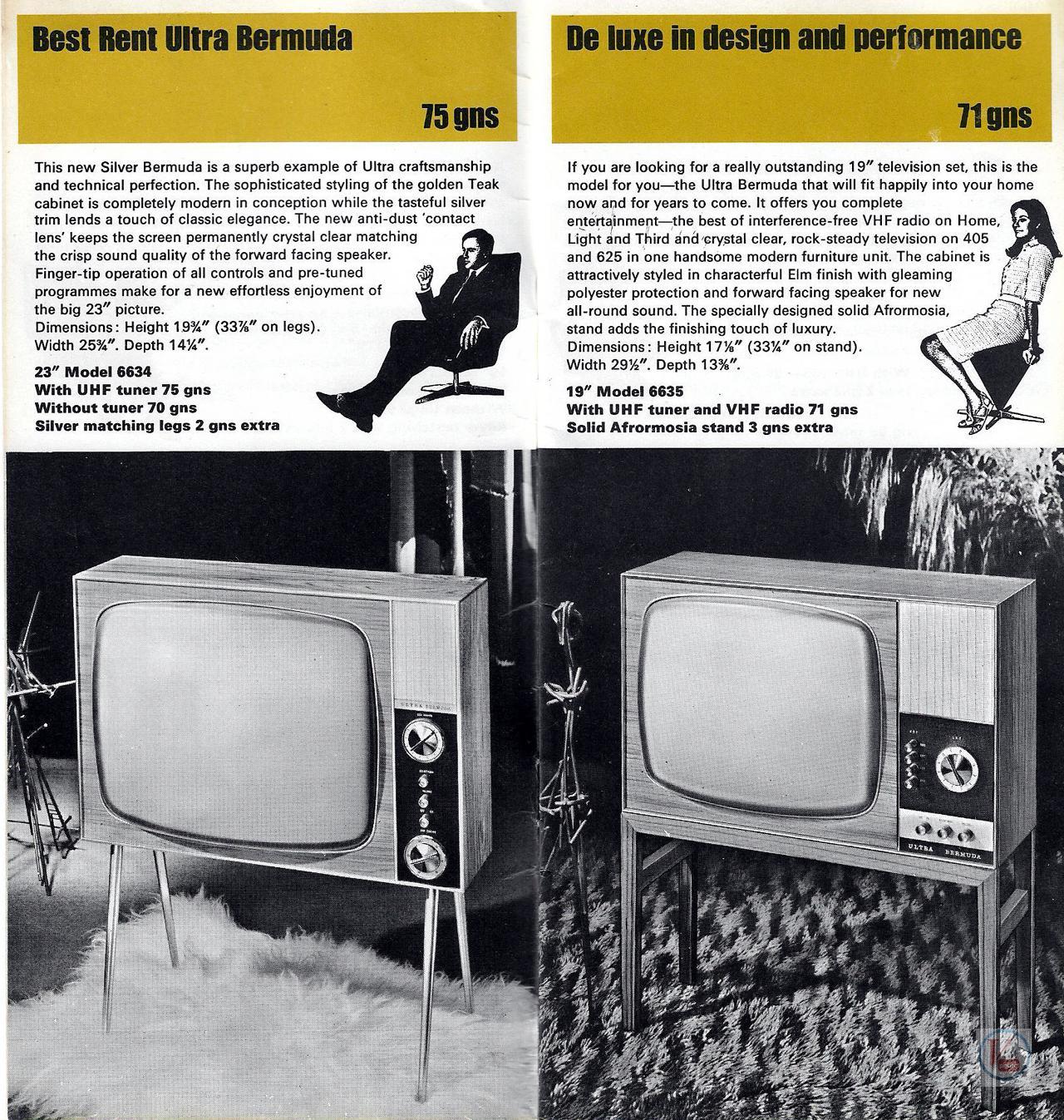 Ultra Black & White TV's 5