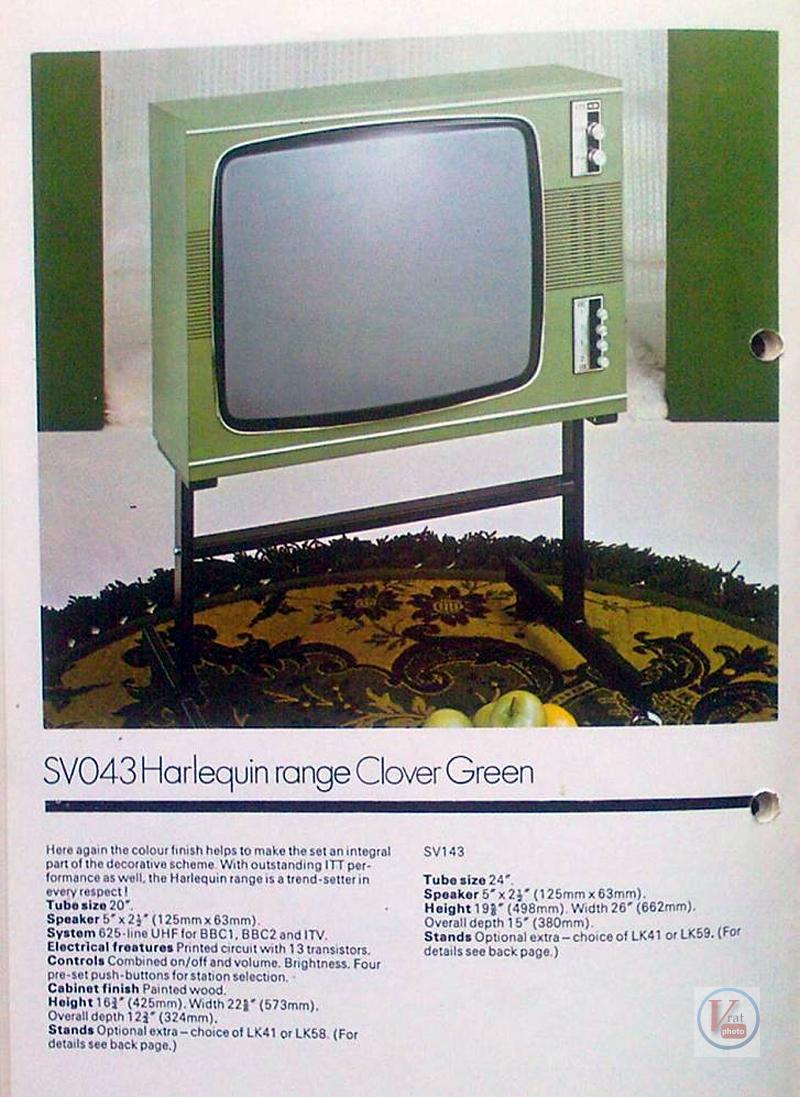 Early 1970's ITT/KB Monochrome Sets 16