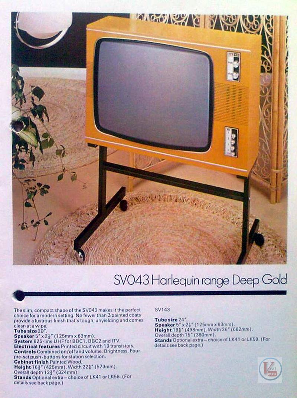 Early 1970's ITT/KB Monochrome Sets 17