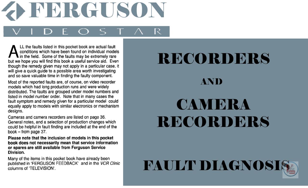 Ferguson VCR: Stock Faults 49