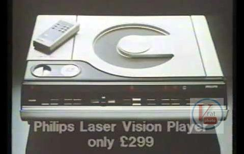 1982 Philips VLP600 LaserVision Player 3