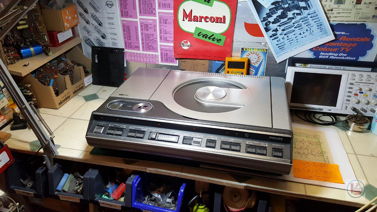 1982 Philips VLP600 LaserVision Player 10