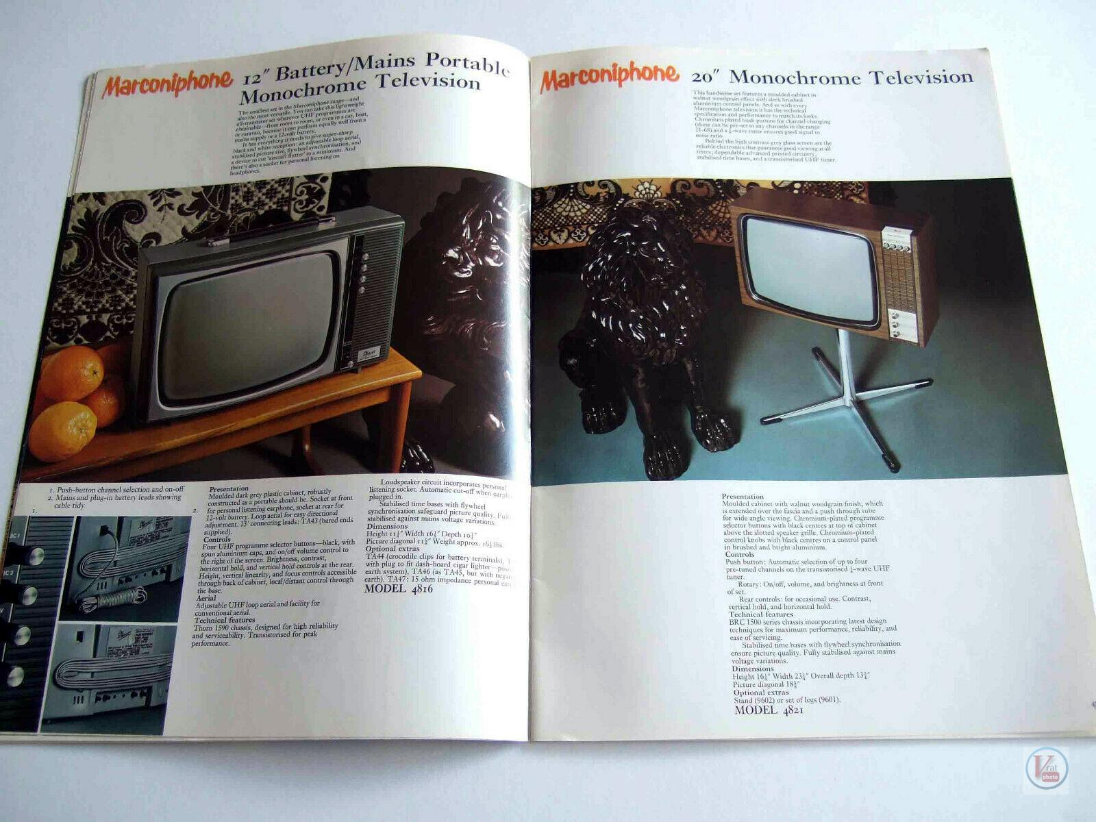Marconiphone B&W TVs 28