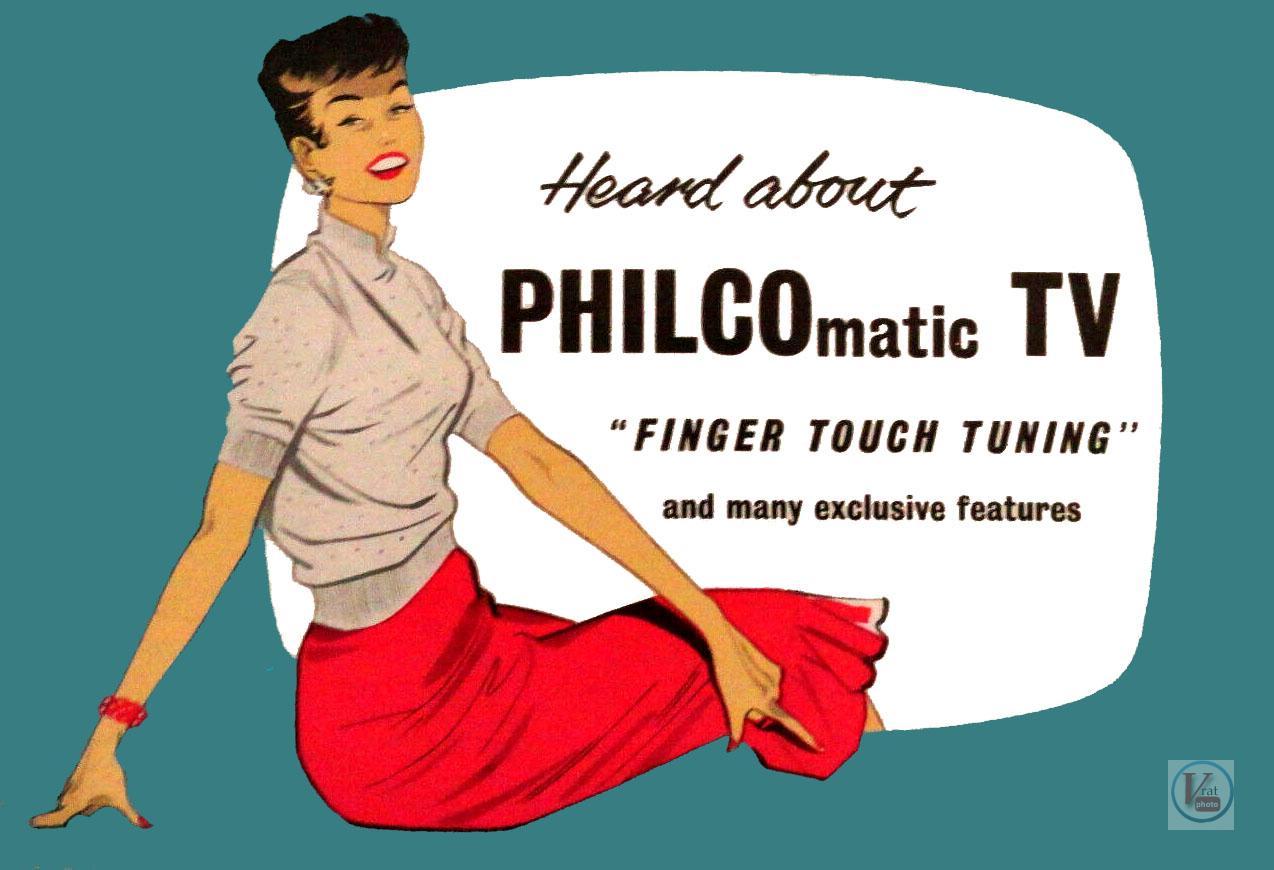 Philco Black & White TV's 13