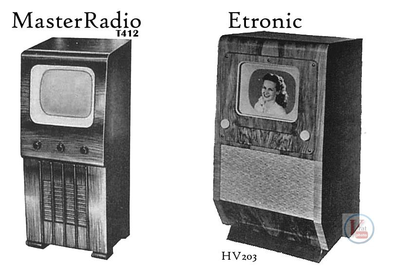 1930's 1940's 405 Televisions 50