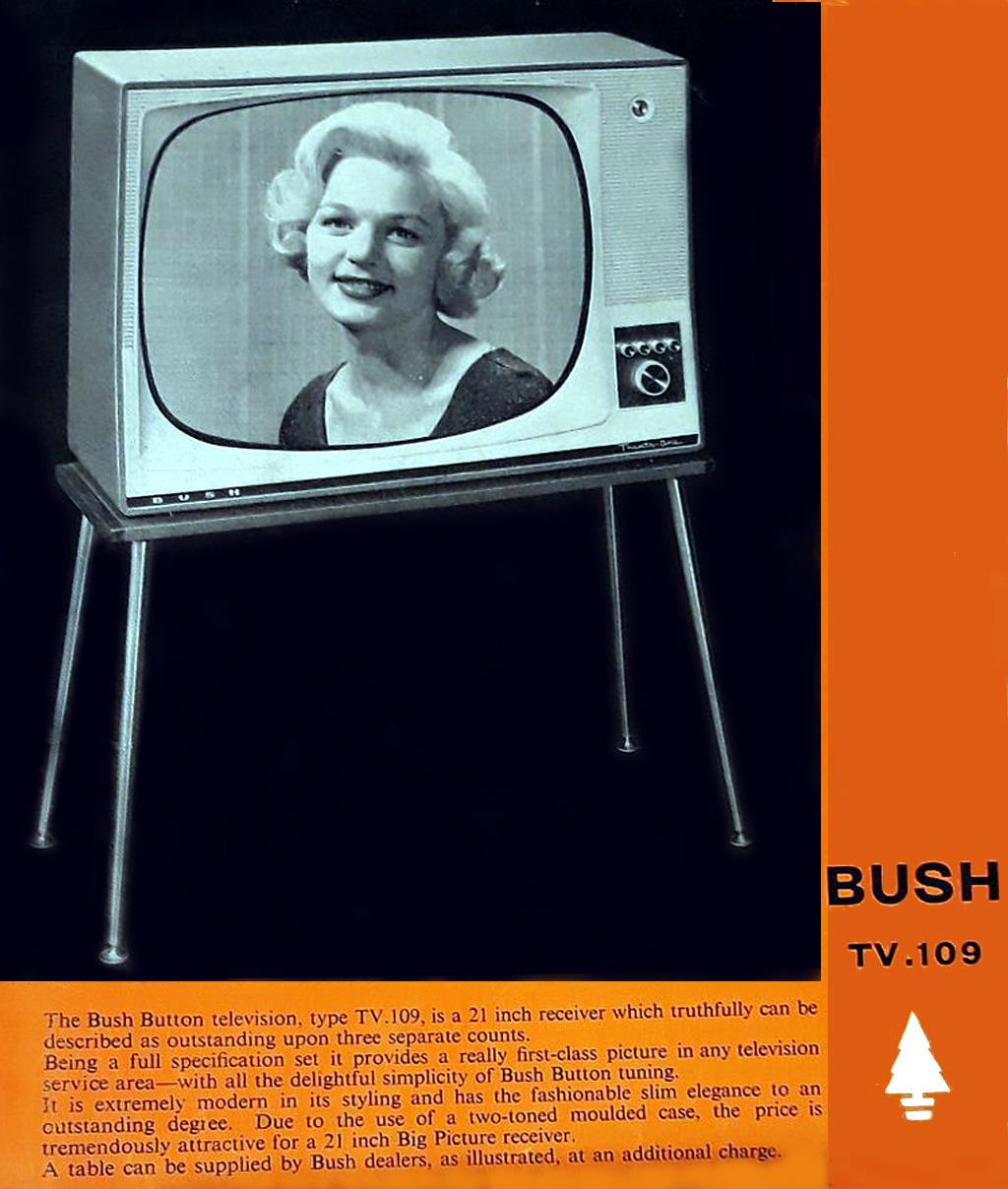 Bush B&W TV's 8