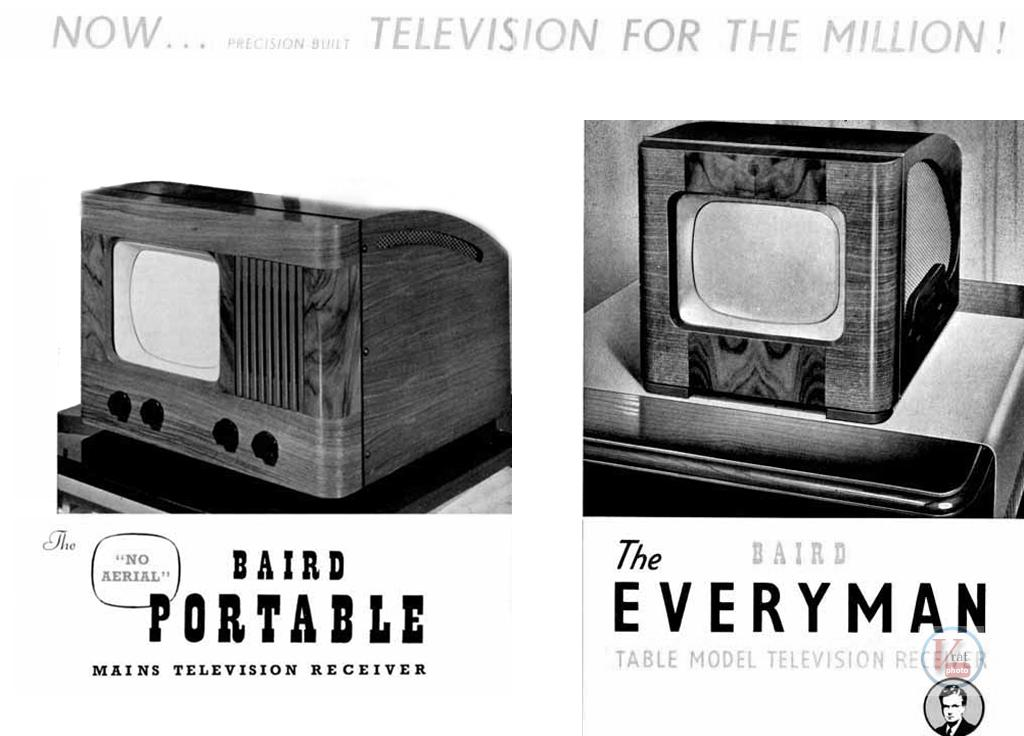 1930's 1940's 405 Televisions 46
