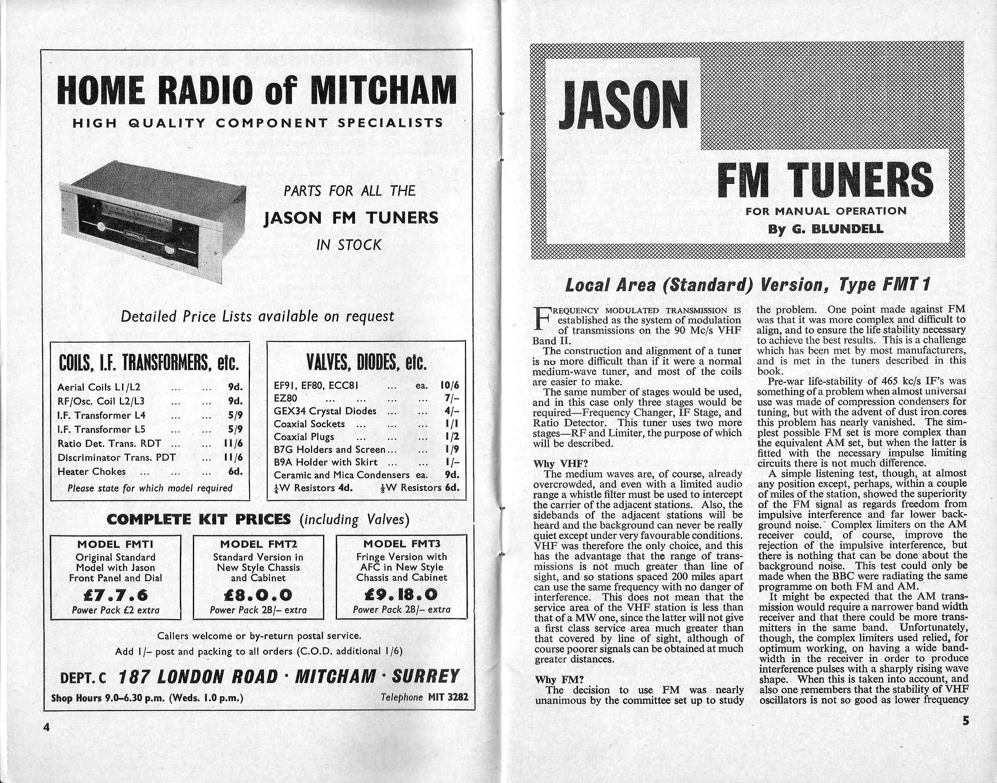 Jason FMT1, FMT2 & FMT3 58