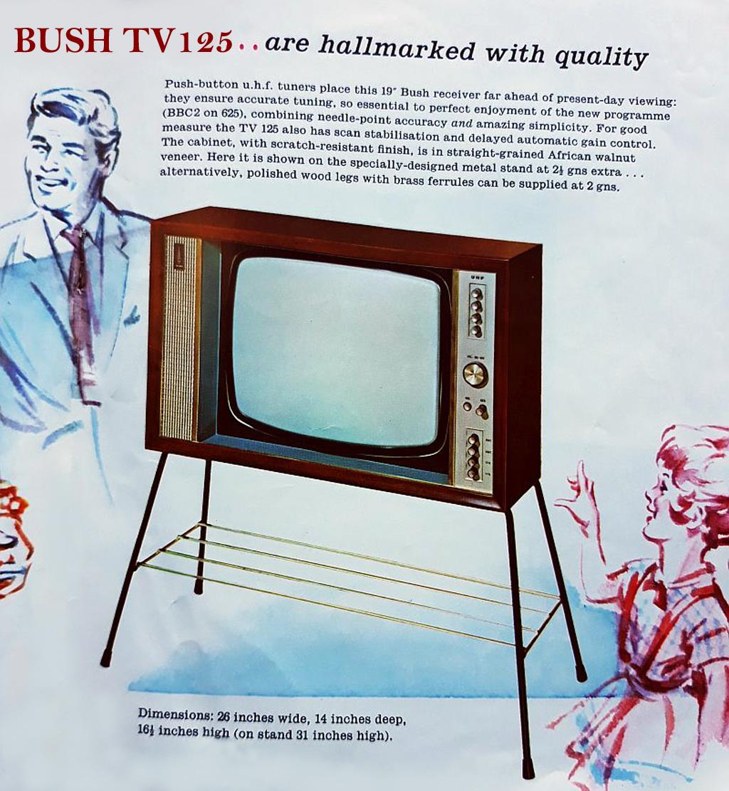 Bush B&W TV's 7