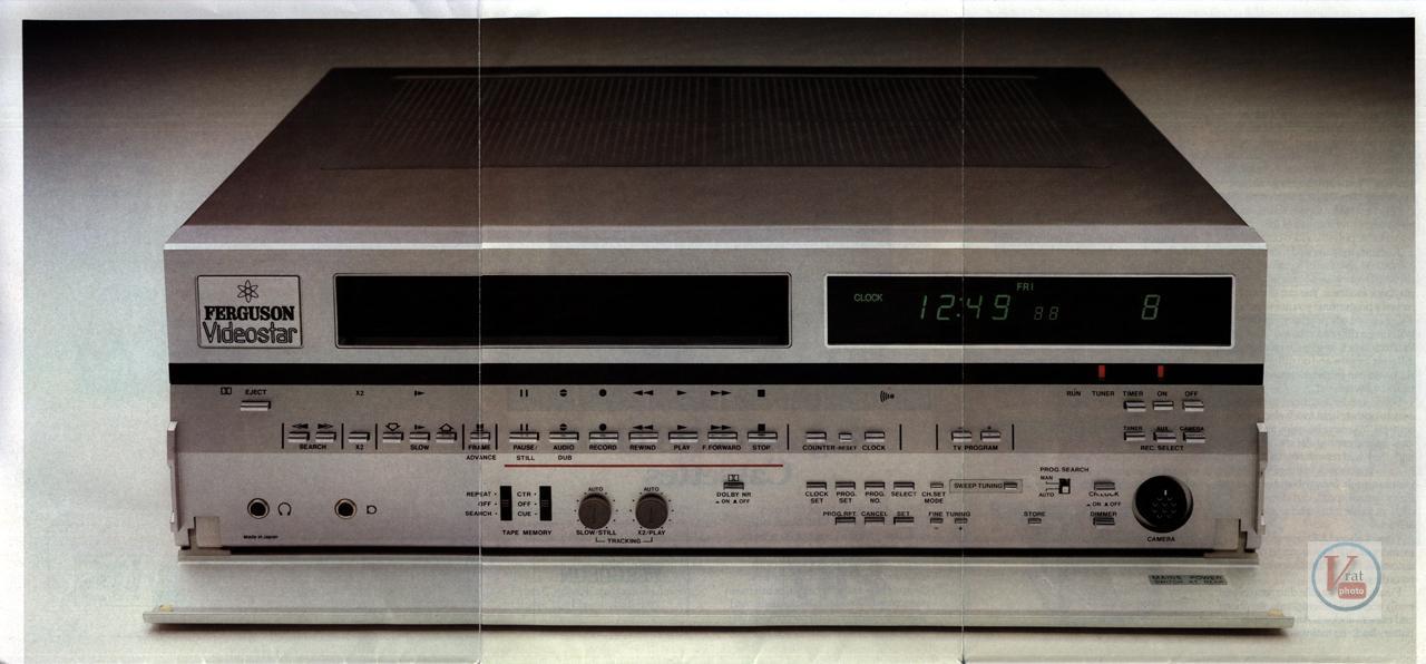 Early 1980s Ferguson Video Recorders 2