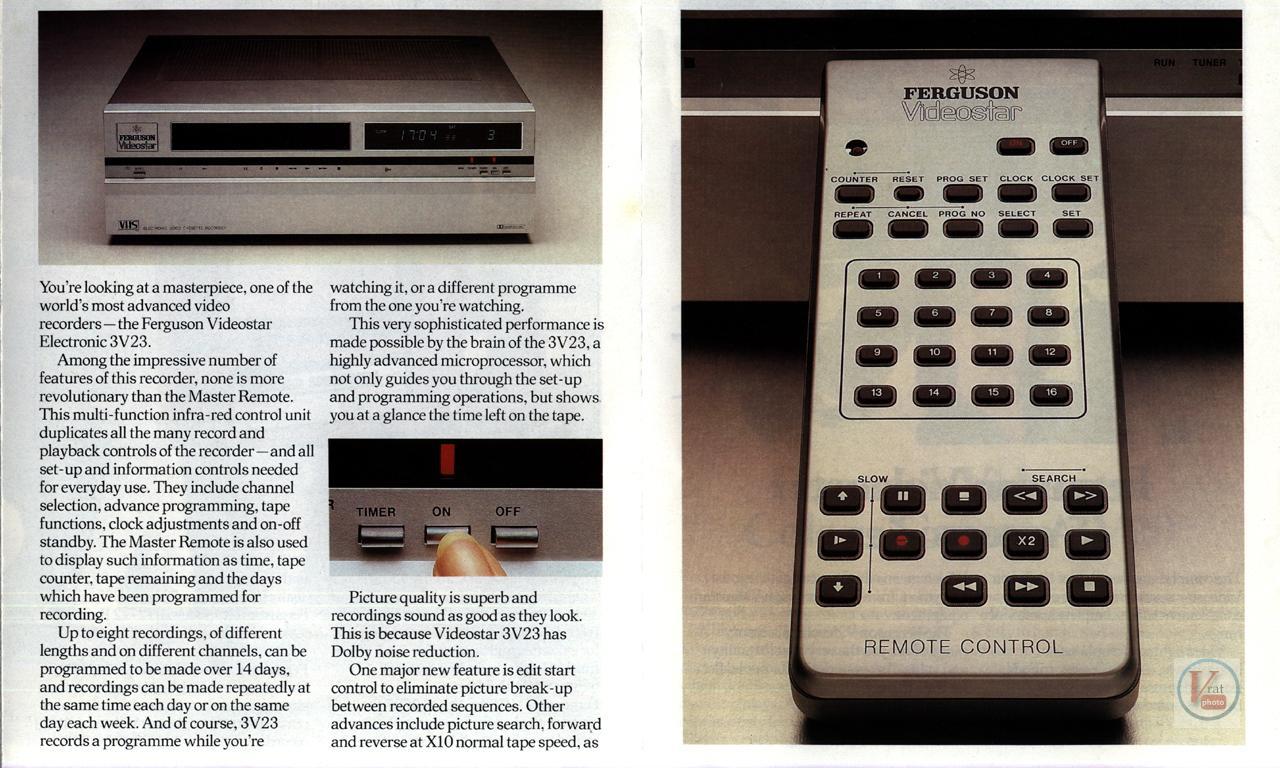 Early 1980s Ferguson Video Recorders 3