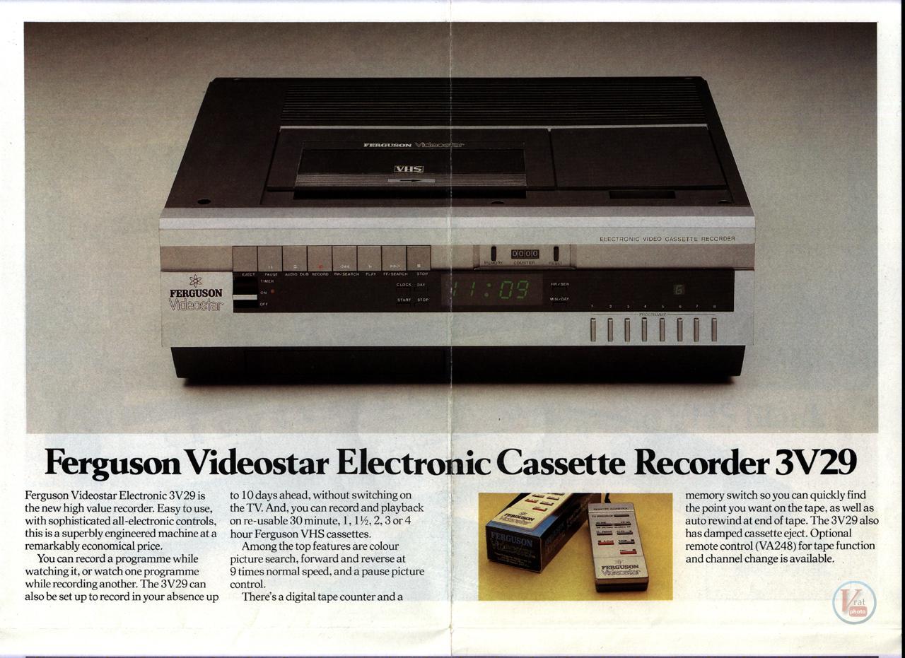 Early 1980s Ferguson Video Recorders 4