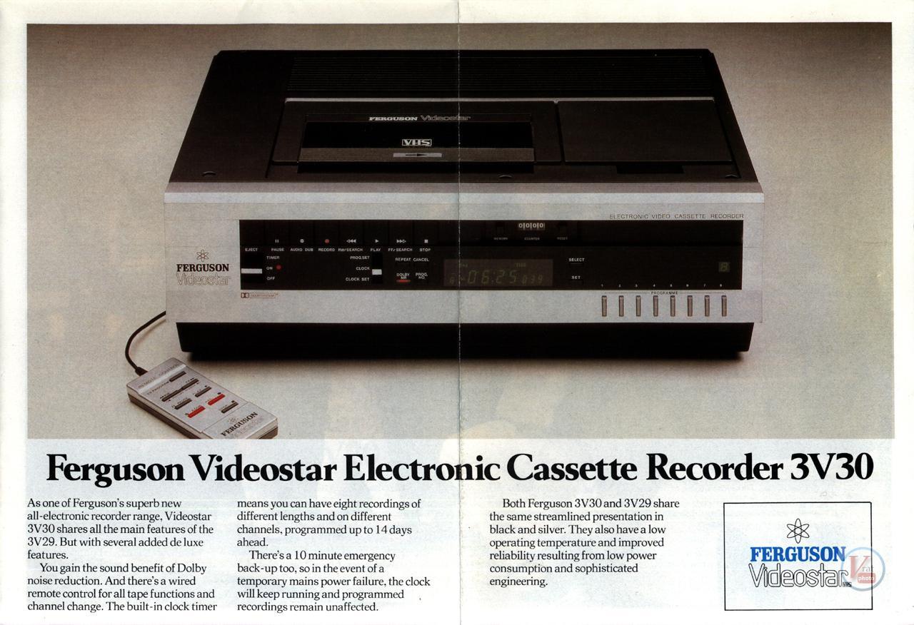 Early 1980s Ferguson Video Recorders 5