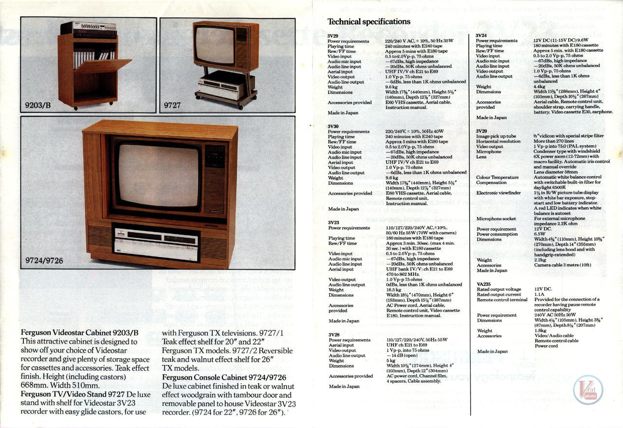 Early 1980s Ferguson Video Recorders 6