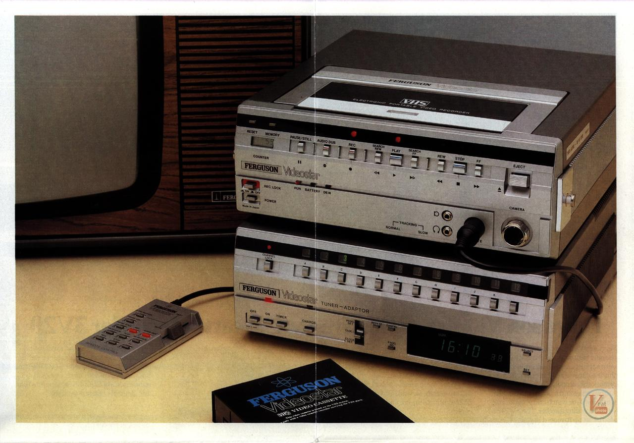 Early 1980s Ferguson Video Recorders 8