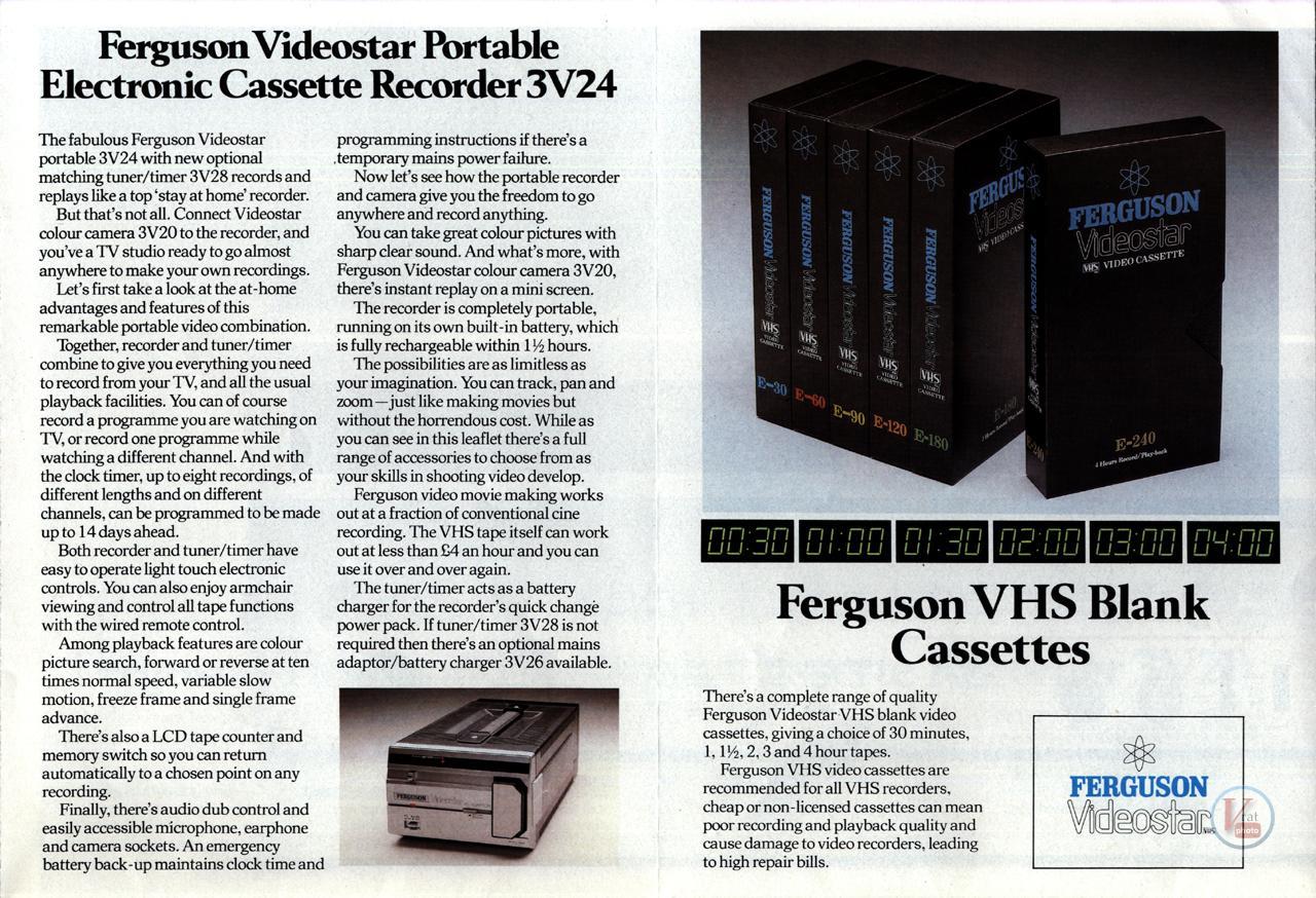 Early 1980s Ferguson Video Recorders 10