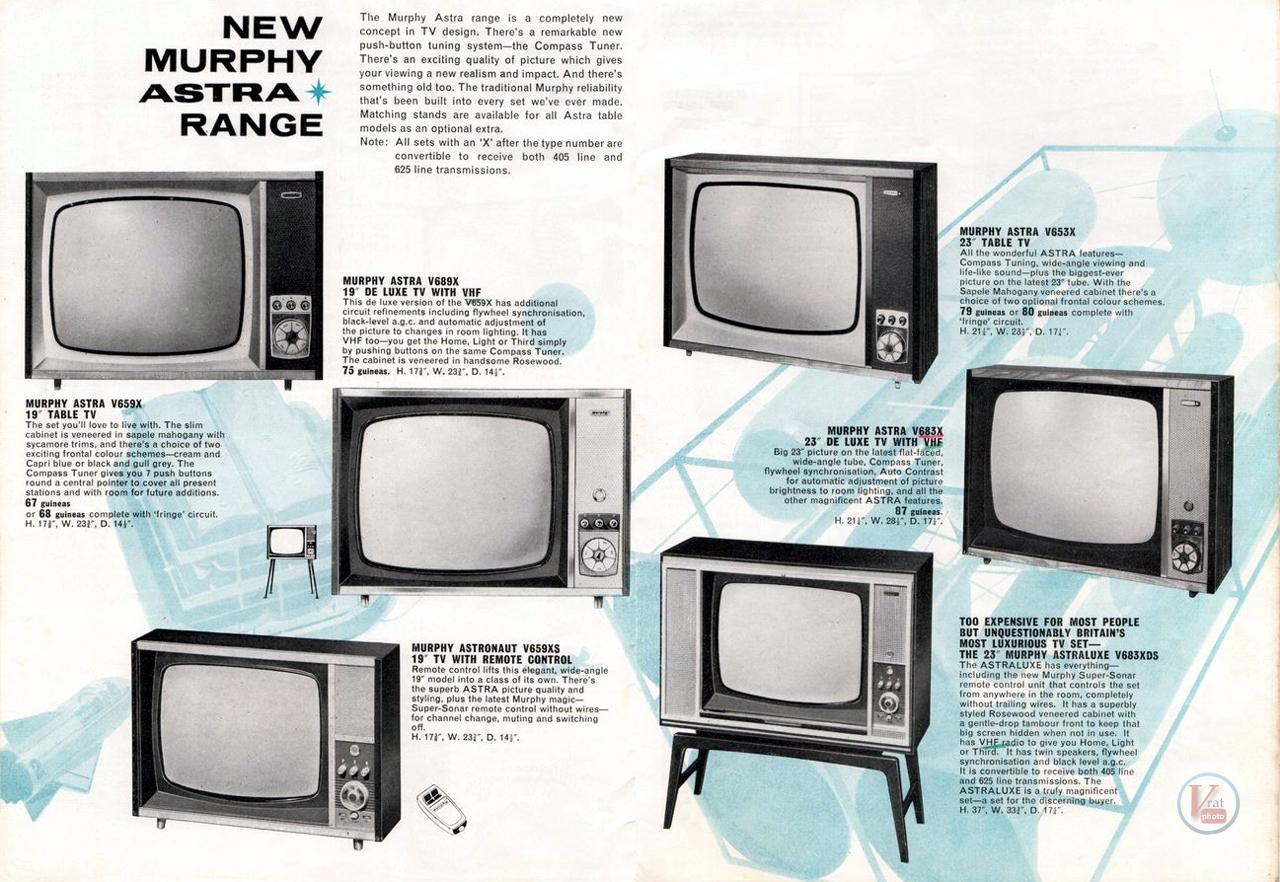 Murphy B&W TV's 75
