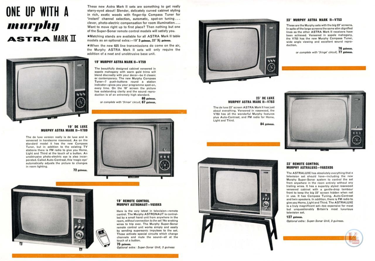Murphy B&W TV's 74