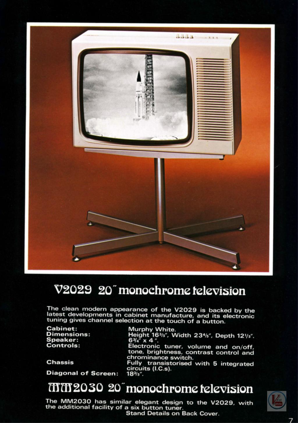 Murphy B&W TV's 92