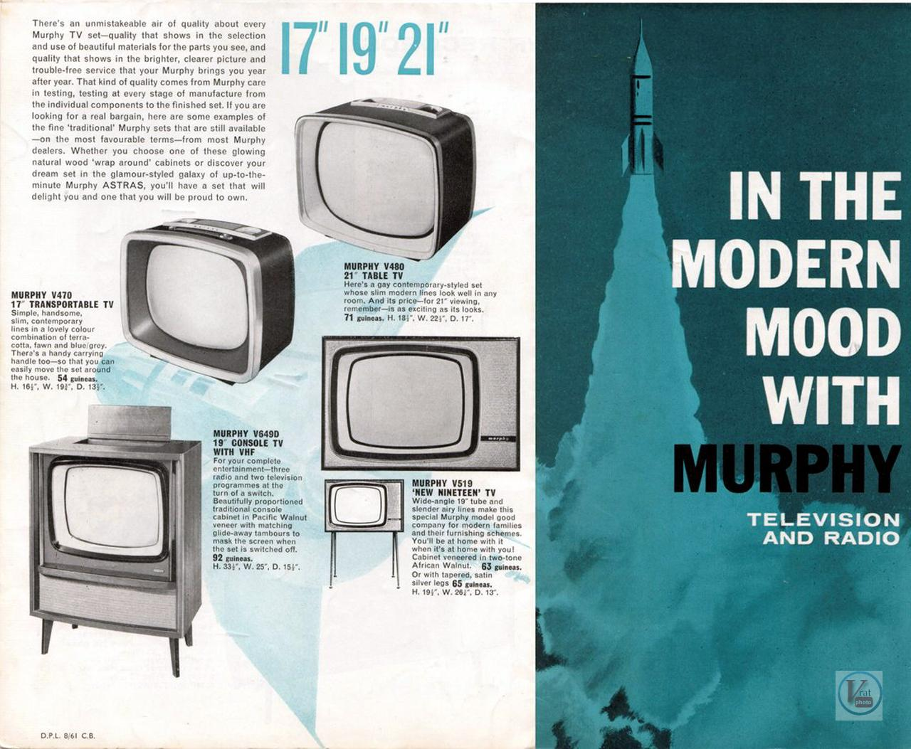Murphy B&W TV's 76