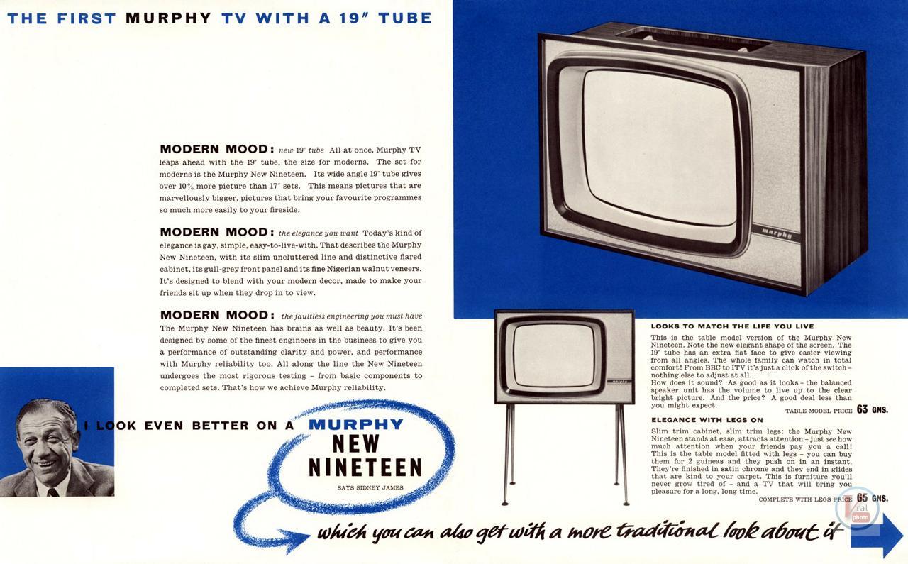 Murphy B&W TV's 77