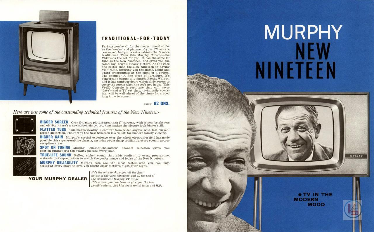 Murphy B&W TV's 78