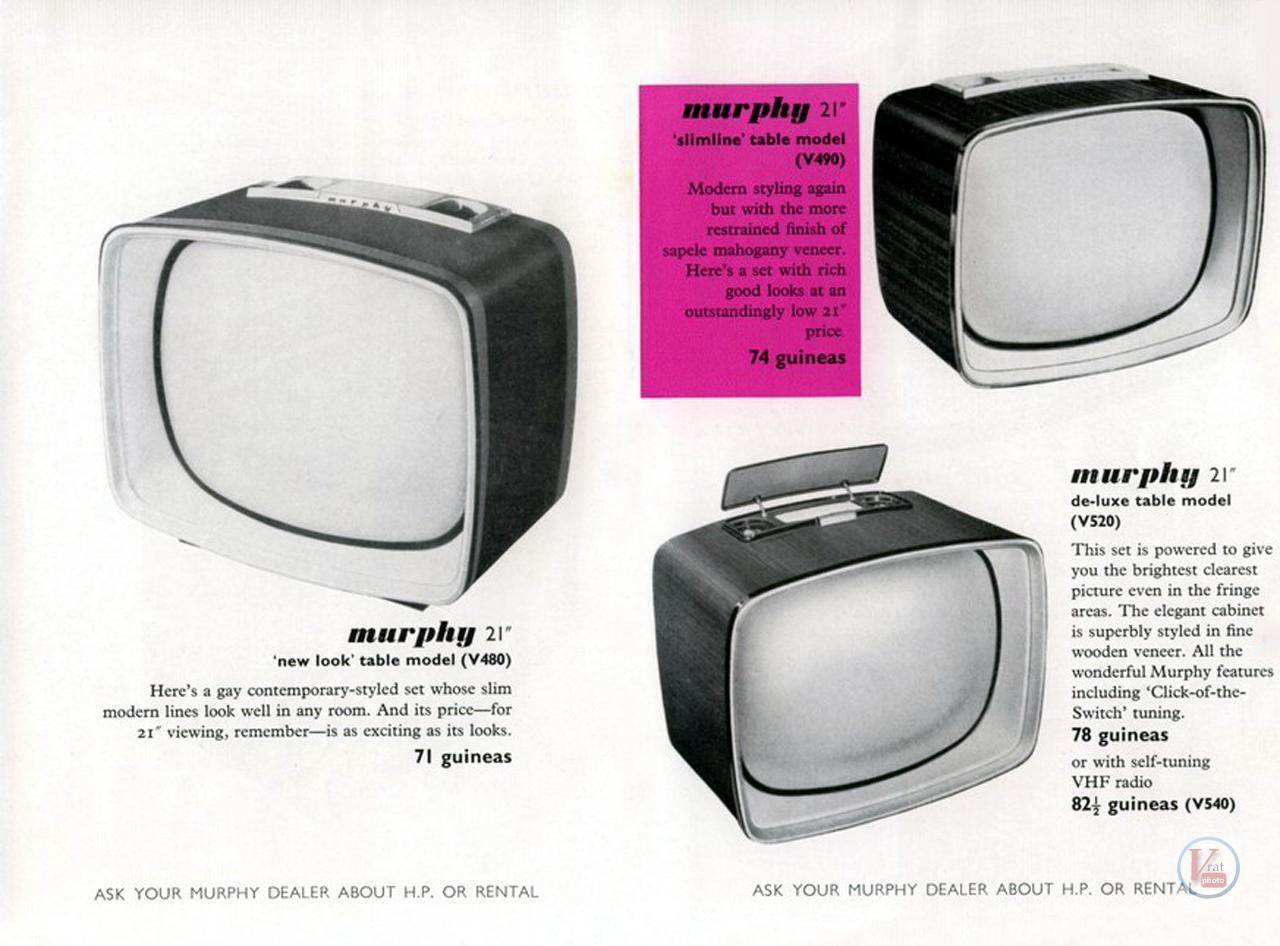 Murphy B&W TV's 80