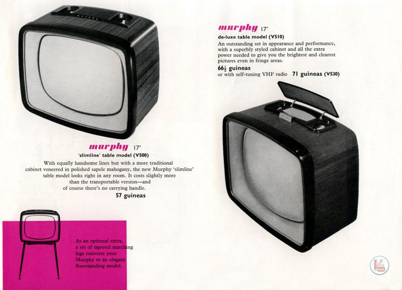 Murphy B&W TV's 82