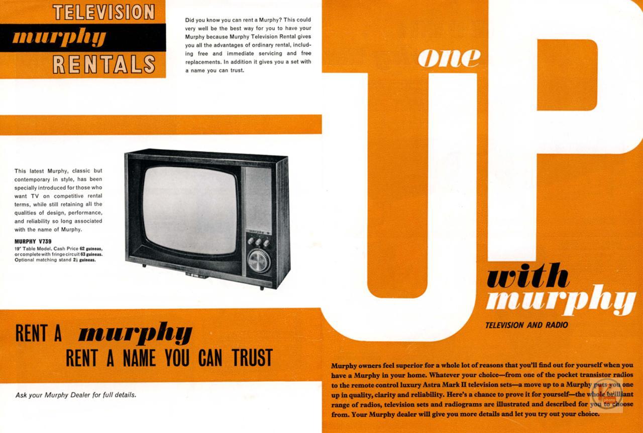 Murphy B&W TV's 73