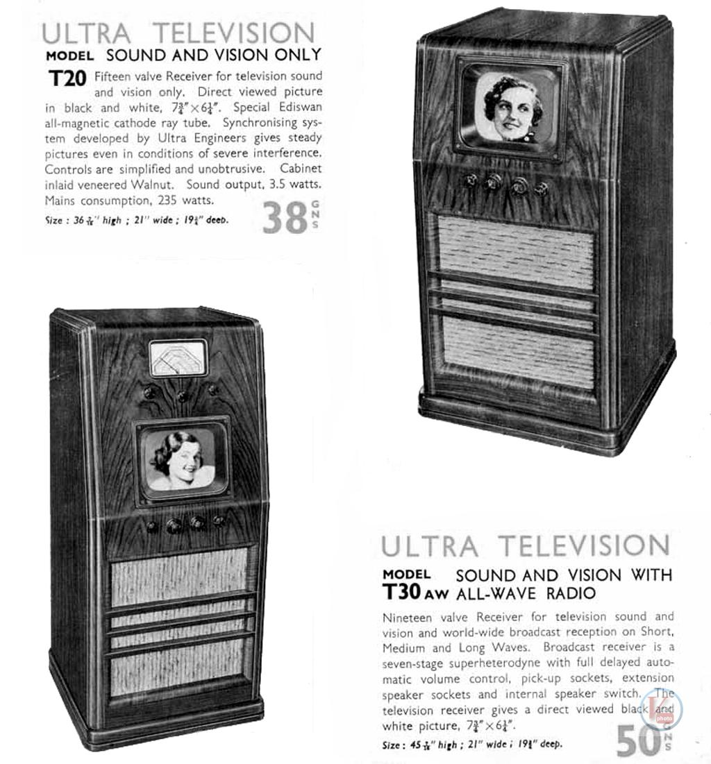 1930's 1940's 405 Televisions 29