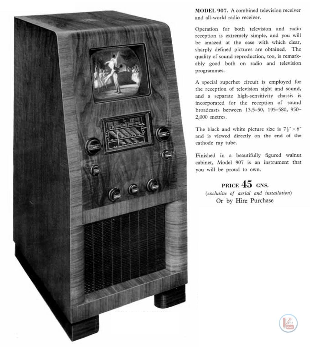 1930's 1940's 405 Televisions 31