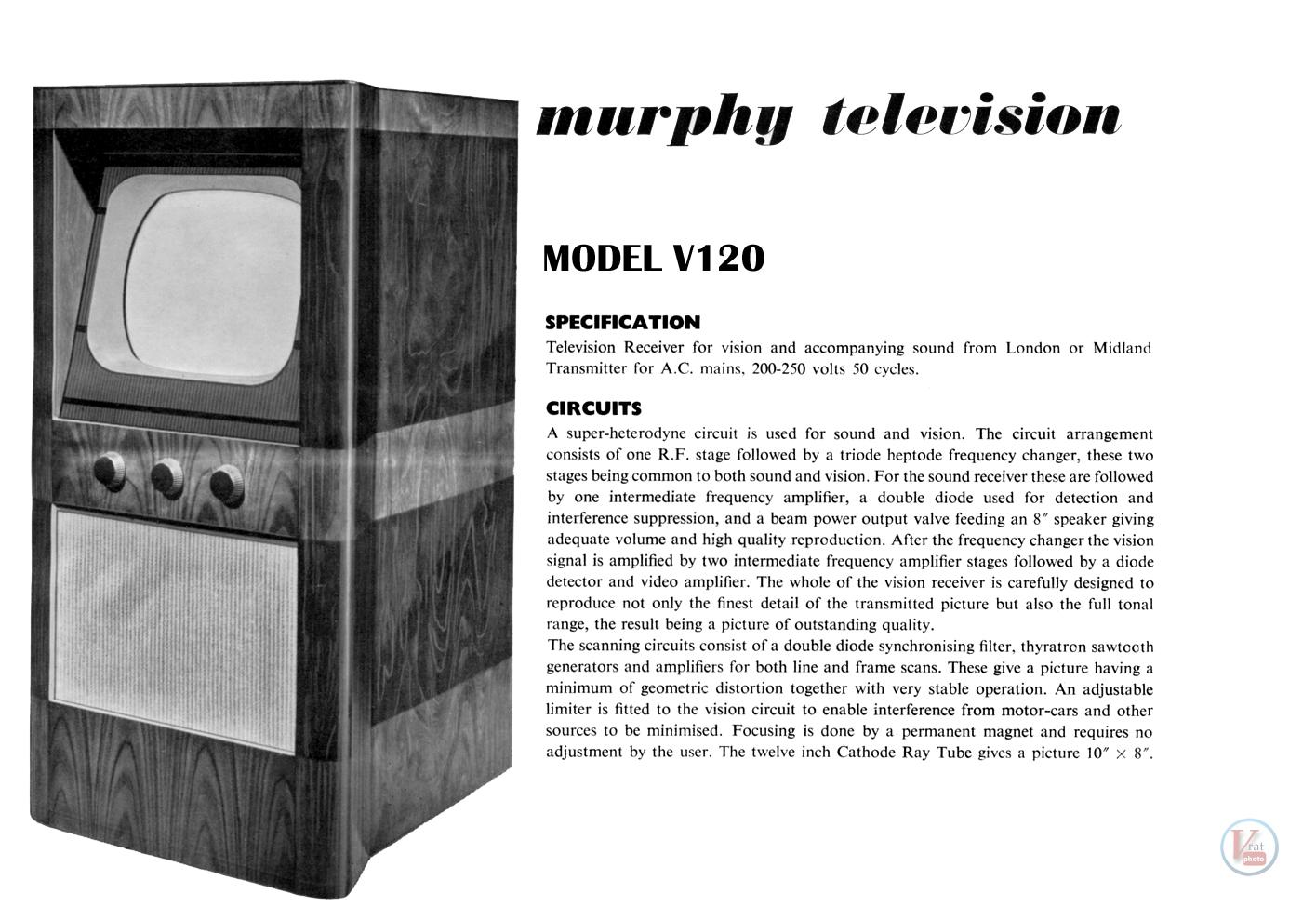 1930's 1940's 405 Televisions 34