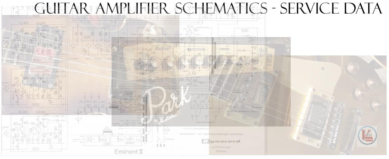 Guitar Amplifier Schematics 3