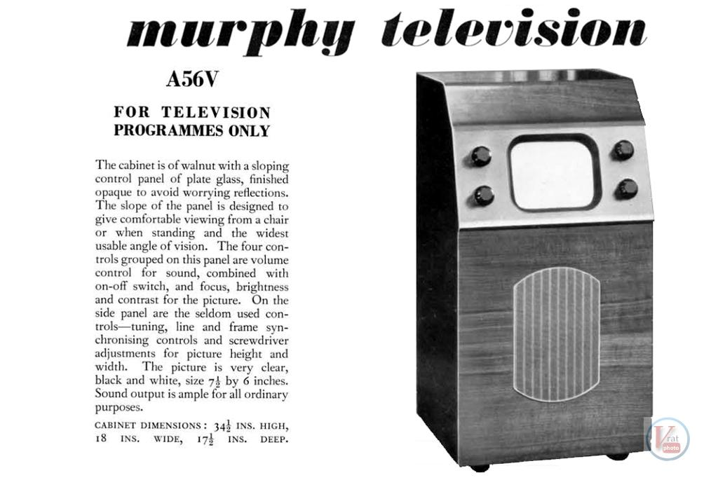 1930's 1940's 405 Televisions 36