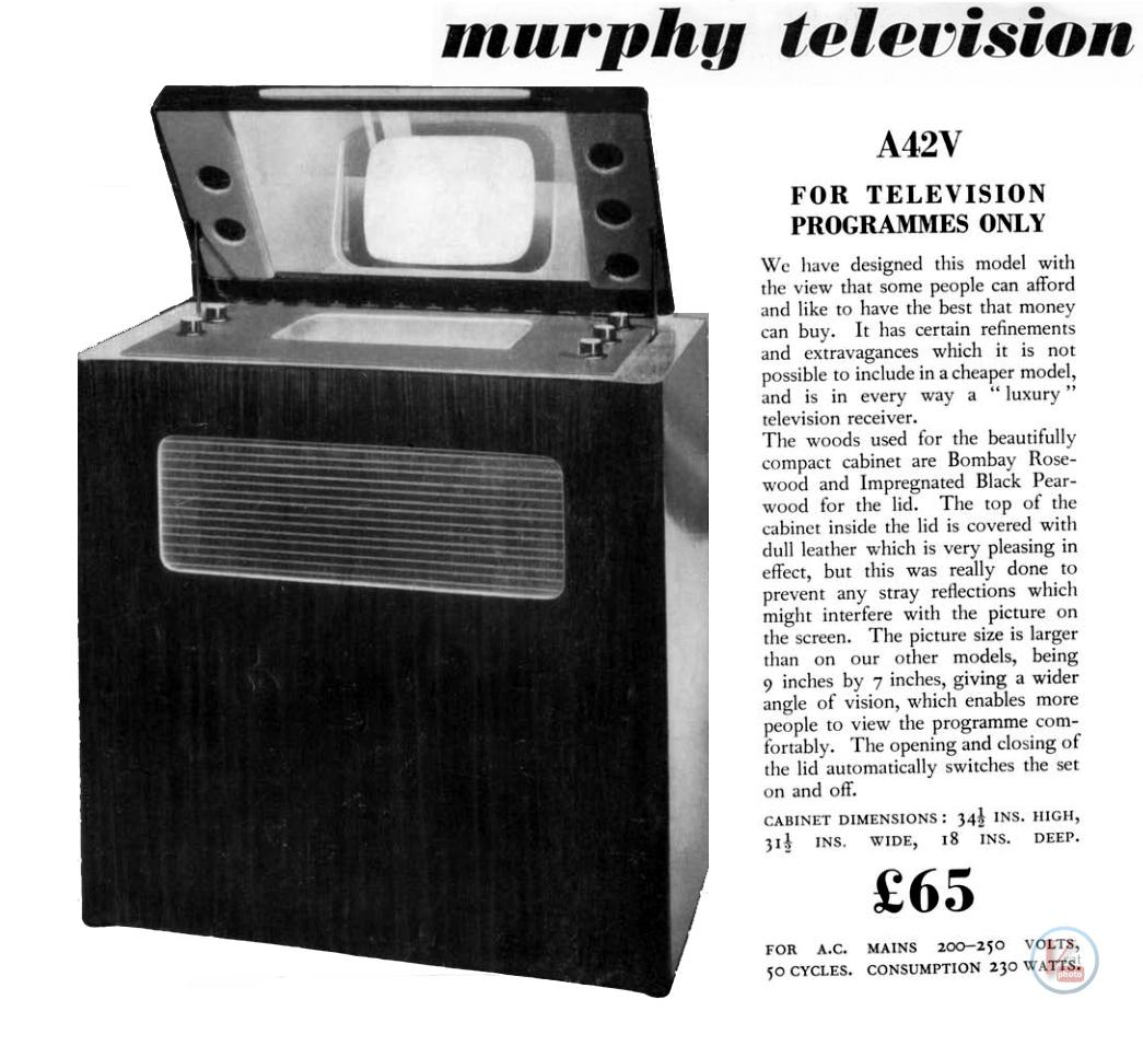 1930's 1940's 405 Televisions 32