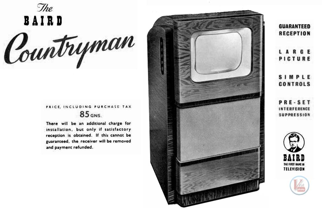 1930's 1940's 405 Televisions 45