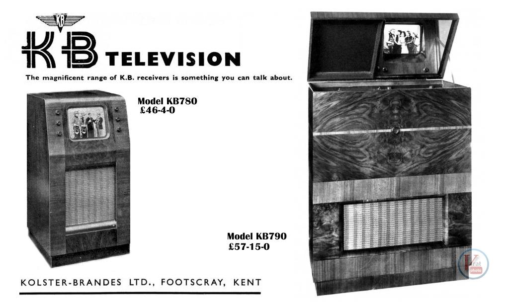 1930's 1940's 405 Televisions 30