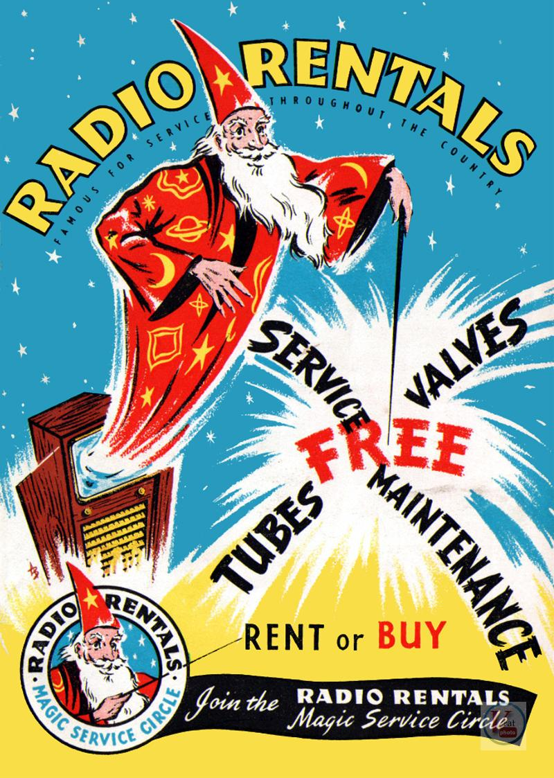 1957 Radio Rentals Catalogue 76