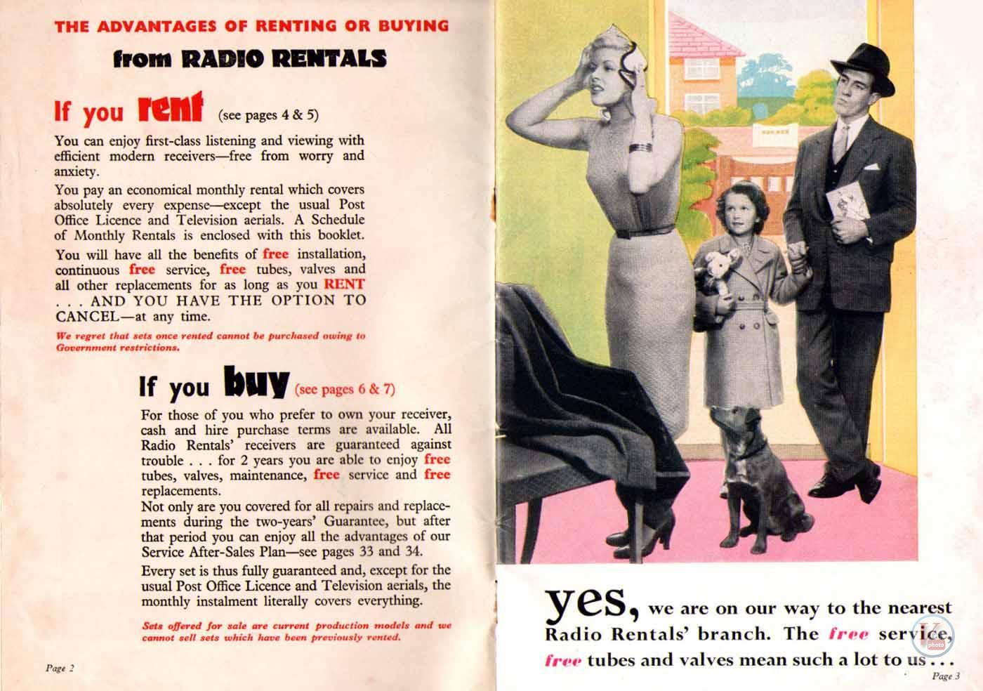 1957 Radio Rentals Catalogue 52